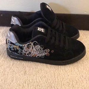 DC Size 6 Black Shoes